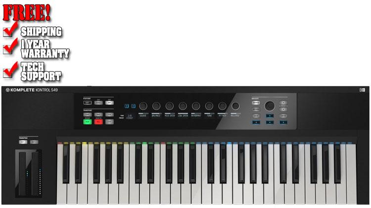 Native Instruments Komplete Kontrol S49   MIDI Controllers