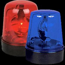 High Powered DJ LED Police Beacon | Chicago DJ Equipment | 123DJ