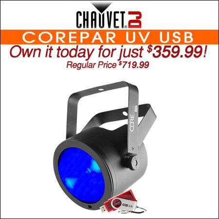 Chauvet COREpar™ UV USB