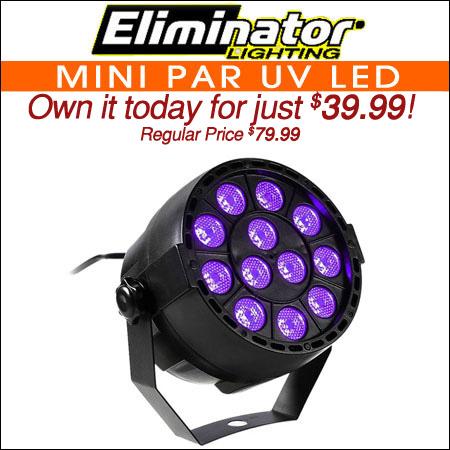 Eliminator Mini Par UV LED