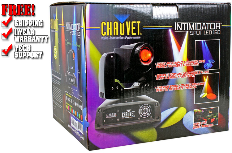 Chauvet DJ Intimidator Spot LED 150 Warehouse Resealed