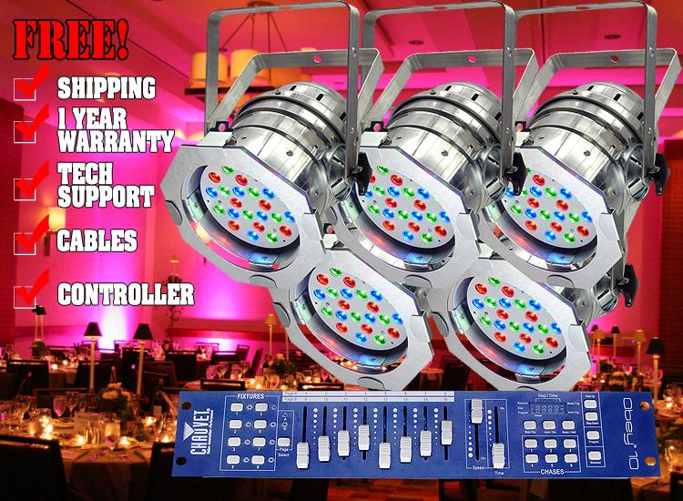 Chauvet LED PAR 56-24 Pack