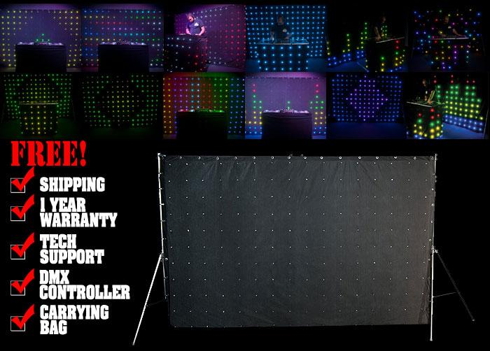 Chauvet DJ MotionDrape LED