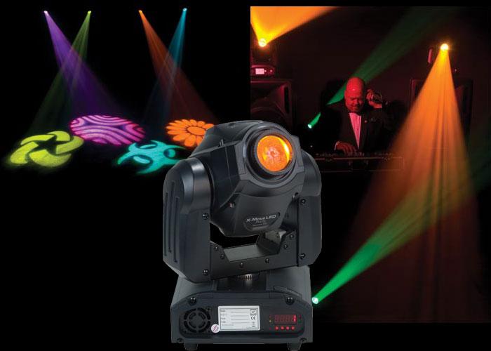 American DJ X-Move LED Plus R