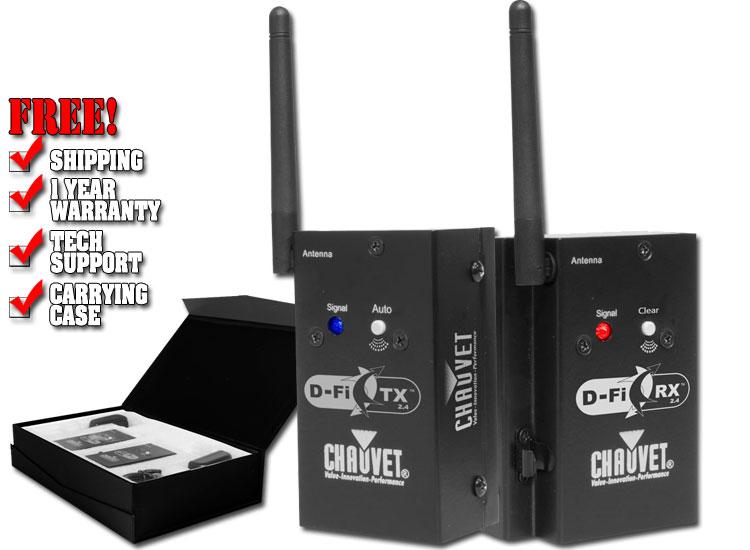 Chauvet D-Fi 2.4 TXRX Duo