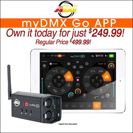 American DJ myDMX Go App