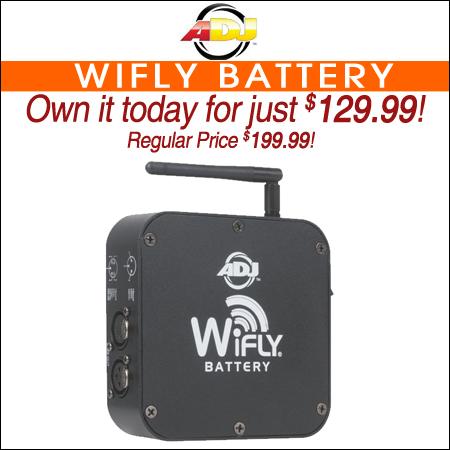 American DJ WiFly Battery