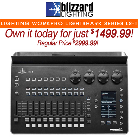 Blizzard Lighting WorkPro LightShark Series LS-1