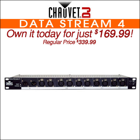 Chauvet Data Stream 4
