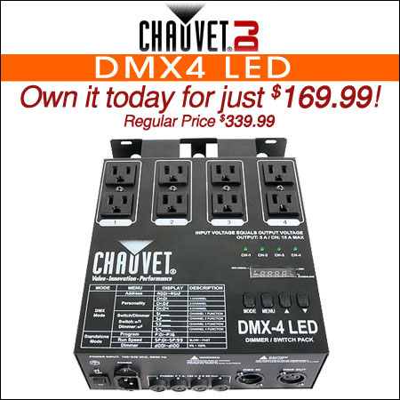 Chauvet DMX4 LED