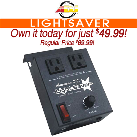 American DJ LightSaver