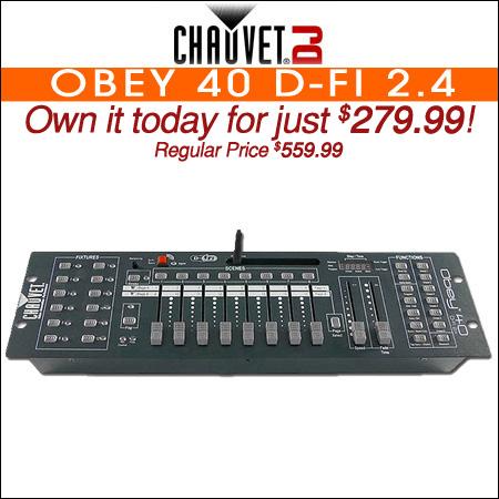 Chauvet Obey 40 D-Fi 2.4