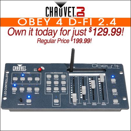 Chauvet Obey 4 D-Fi 2.4
