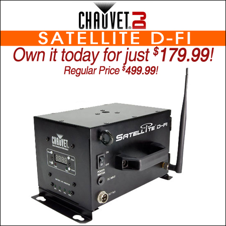 Chauvet Satellite D-Fi