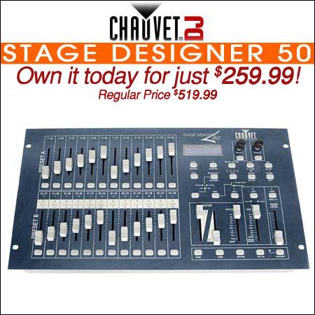 Chauvet Stage Designer 50