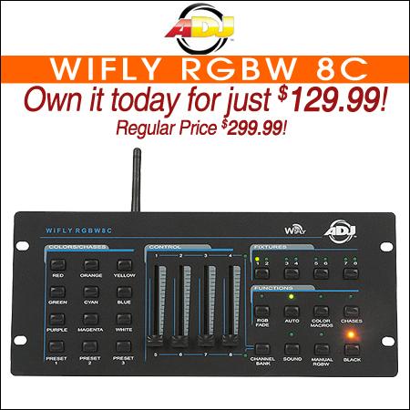 American DJ WiFly RGBW 8C
