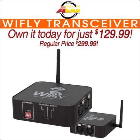 American DJ WiFly Transceiver