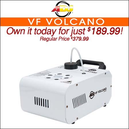 ADJ VF Volcano Fog Machine