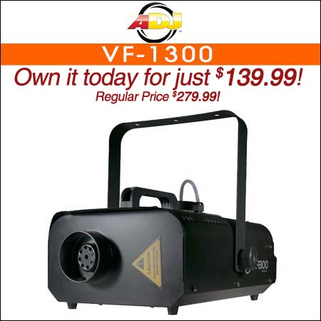 American DJ VF-1300 Fog Machine