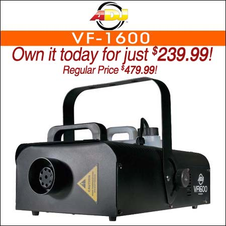 American DJ VF-1600 Fog Machine