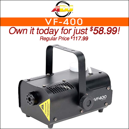 American DJ VF-400 Fog Machine