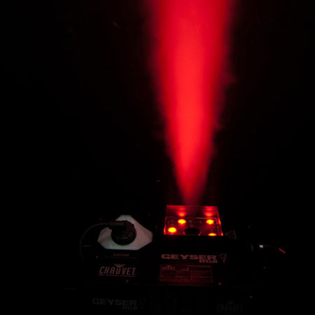Chauvet DJ Geyser RGB Fog Machine & Odyssey Case Package