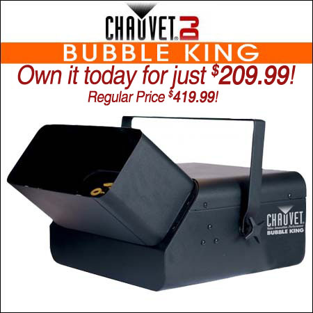Chauvet Bubble King