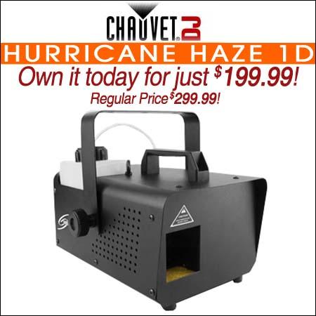 Chauvet DJ Hurricane Haze 1D