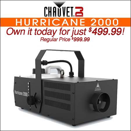 Chauvet DJ Hurricane 2000