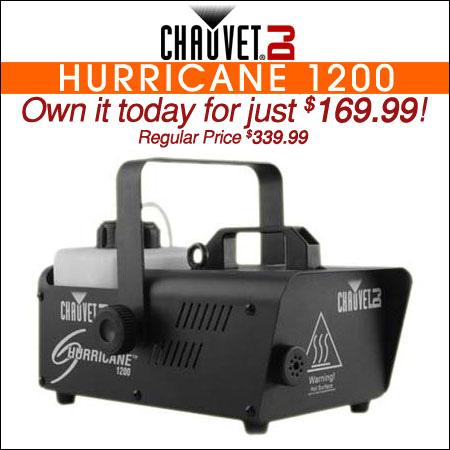 Chauvet DJ Hurricane 1200