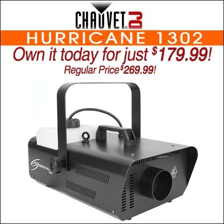 Chauvet DJ Hurricane 1302
