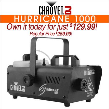 Chauvet DJ Hurricane 1000