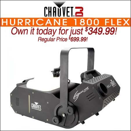 Chauvet Hurricane 1800 Flex