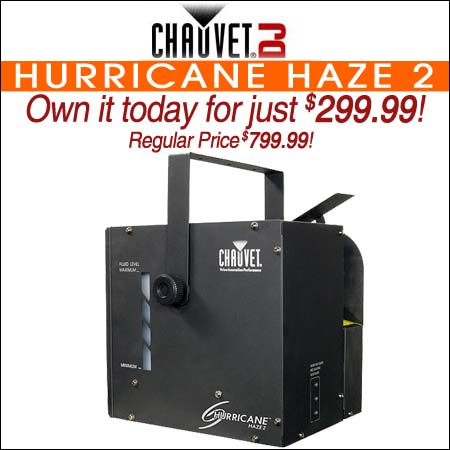 Chauvet Hurricane Haze 2