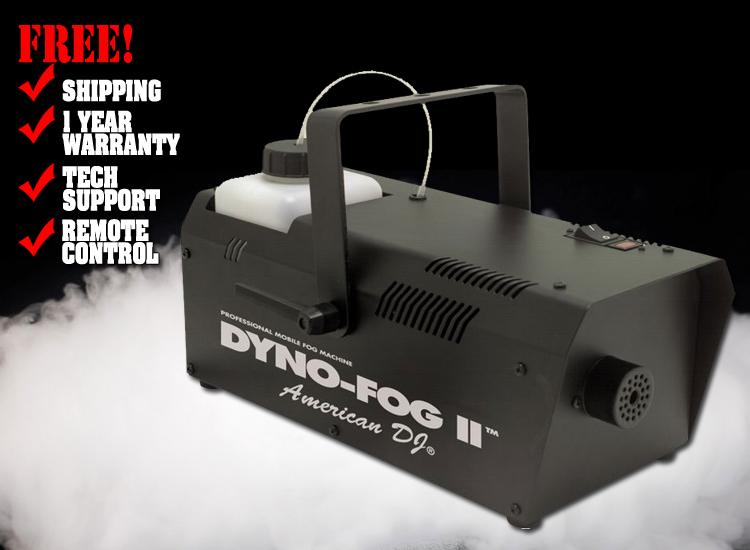 American DJ Dyno Fog 2
