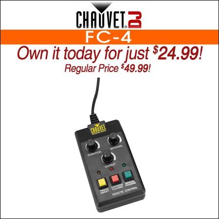 Chauvet DJ FC-4