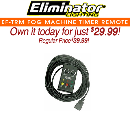 Eliminator EF-TRM Fog Machine Timer Remote