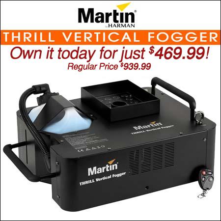 Martin Thrill Vertical Fogger