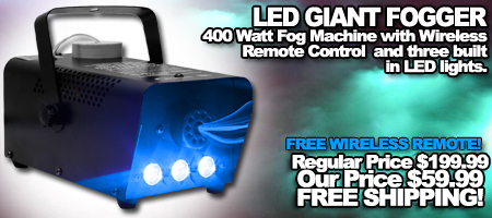 LED Giant Fogger