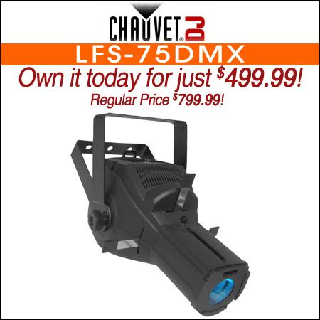 CHAUVET DJ LFS-75DMX