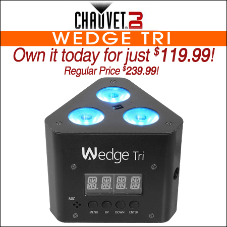 Chauvet Wedge Tri
