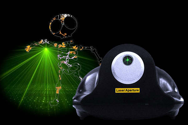 Eliminator Scatter Star Green Laser