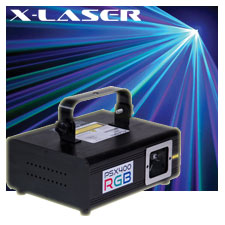 X-Laser PSX-400 RGB 400mw RGB DMX Laser