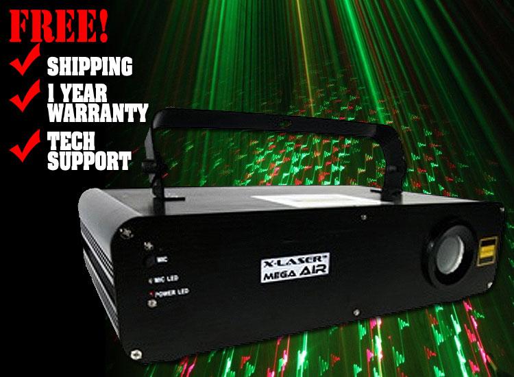 X-Laser Mega Air