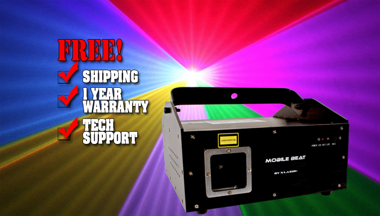 X-Laser Mobile Beat RGB