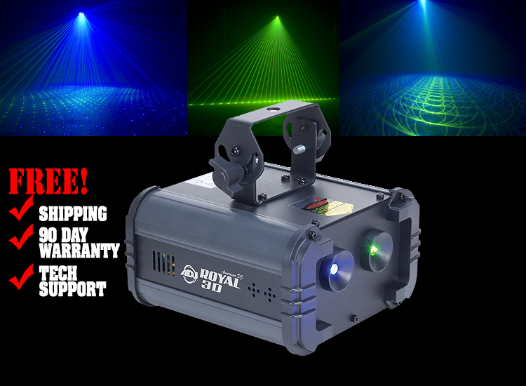 American DJ Royal 3D