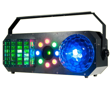 American DJ Boom Box FX1 4-FX-IN-1 Lighting Fixture