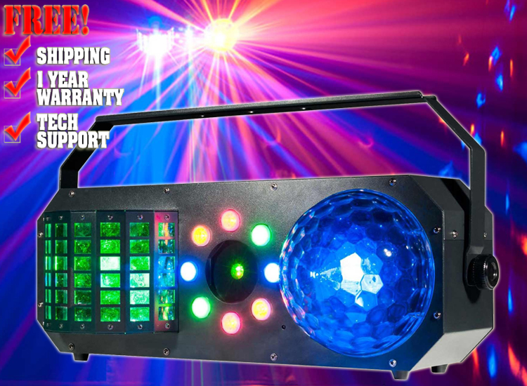 Boom Box FX1 4-FX-IN-1 Lighting Fixture