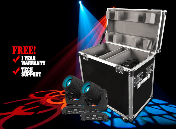 Chauvet Intimidator Spot LED 350 Bundle