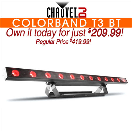 Chauvet COLORband T3 BT RGB LED Strip